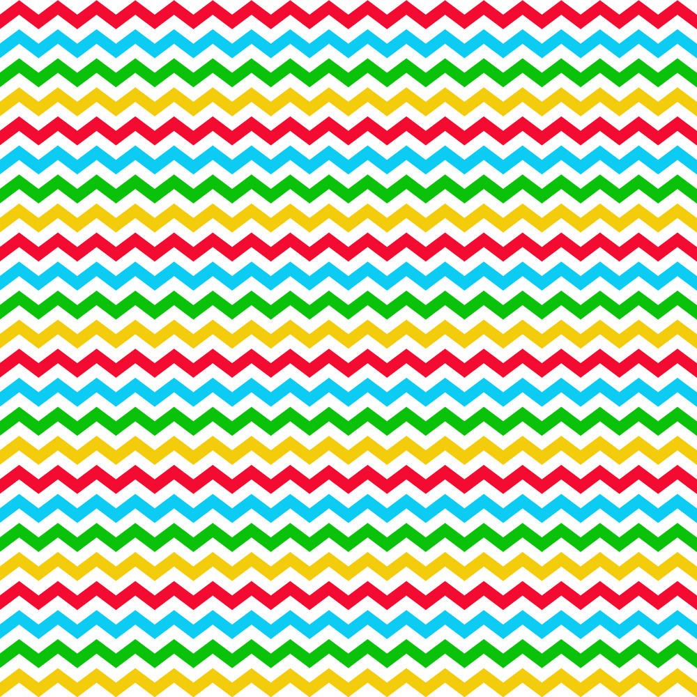 Colourful Chevron Clubhouse Pattern