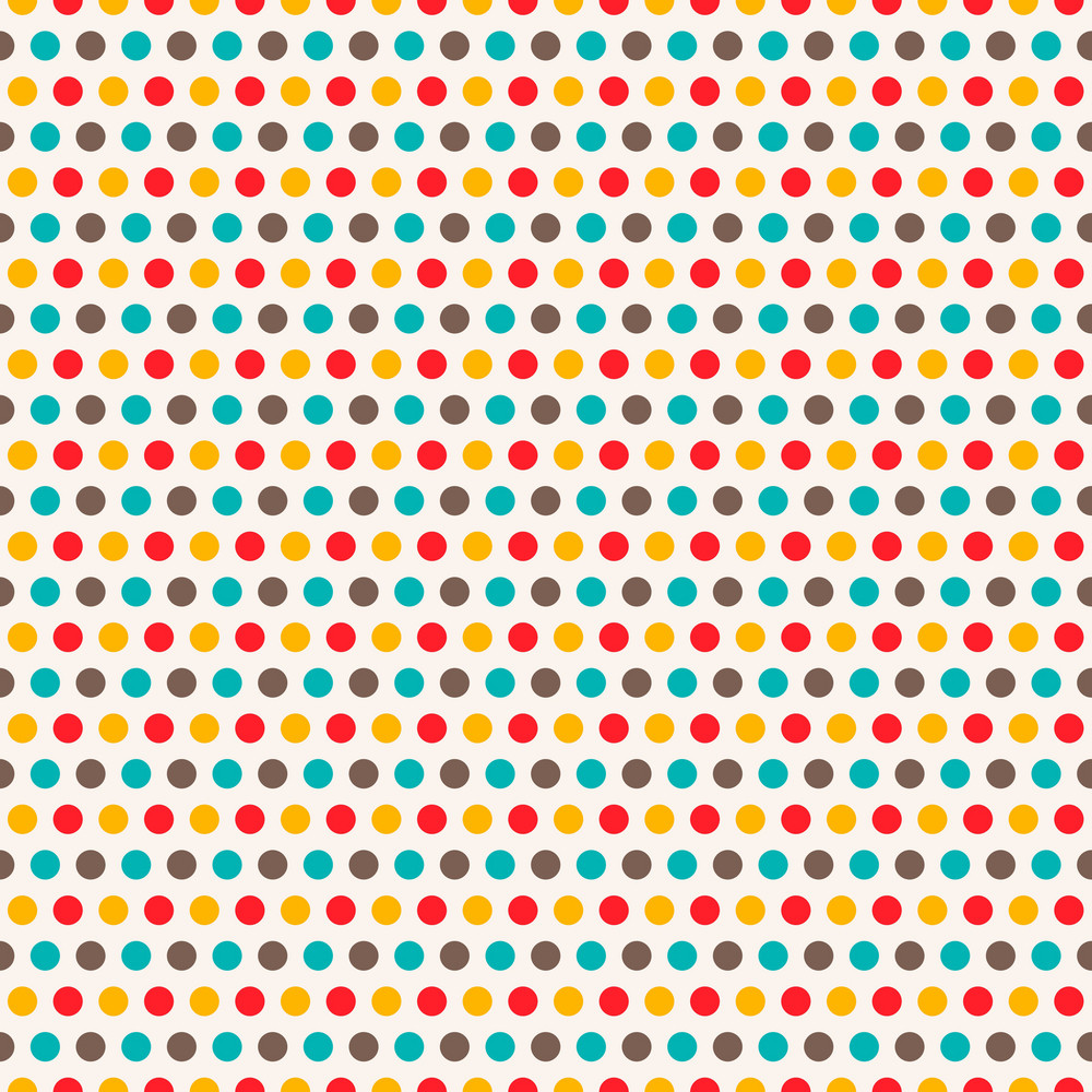 Colourful Polka Dot Pattern