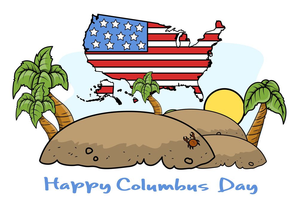 Columbus Day Vector Graphic Designs