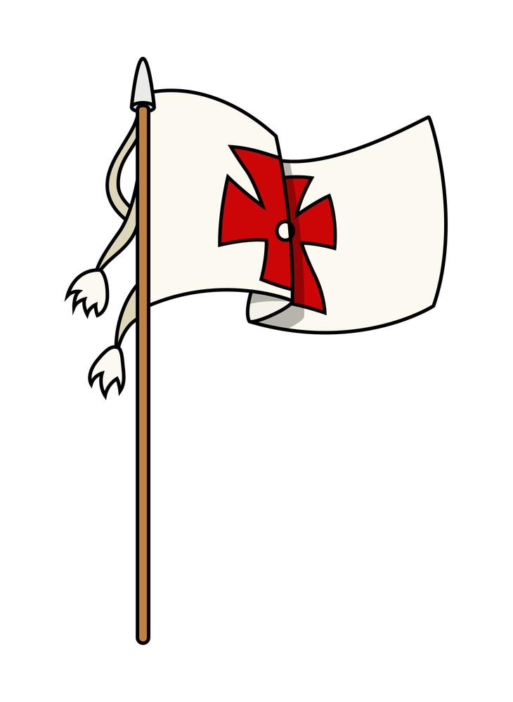 Columbus Flag Vector