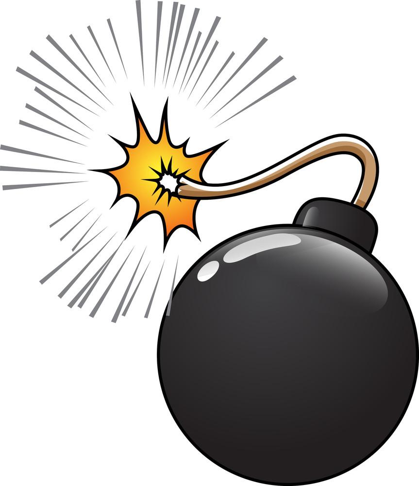 Comic Bomb Vector