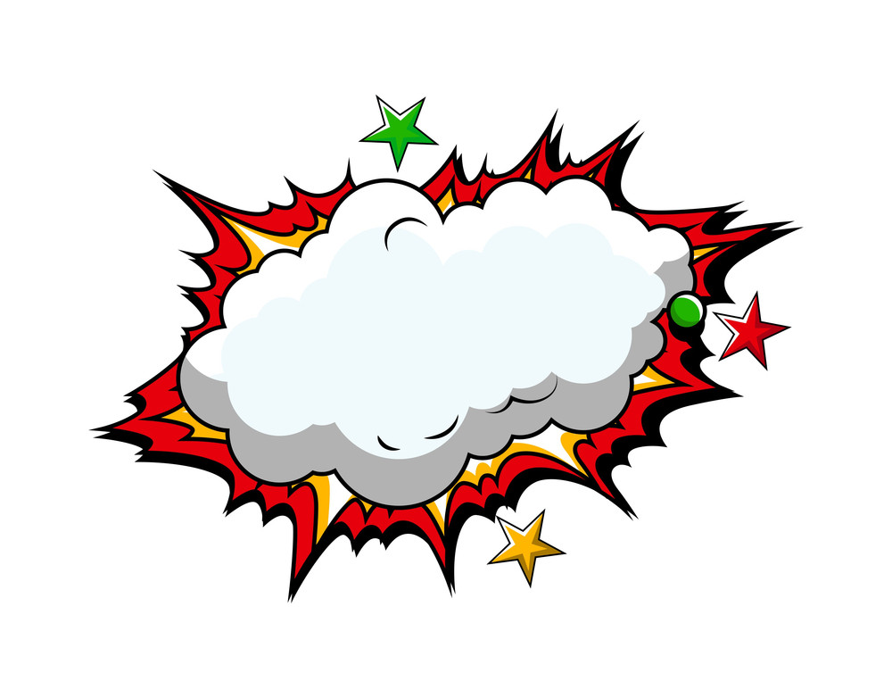 Comic Cloud Burst