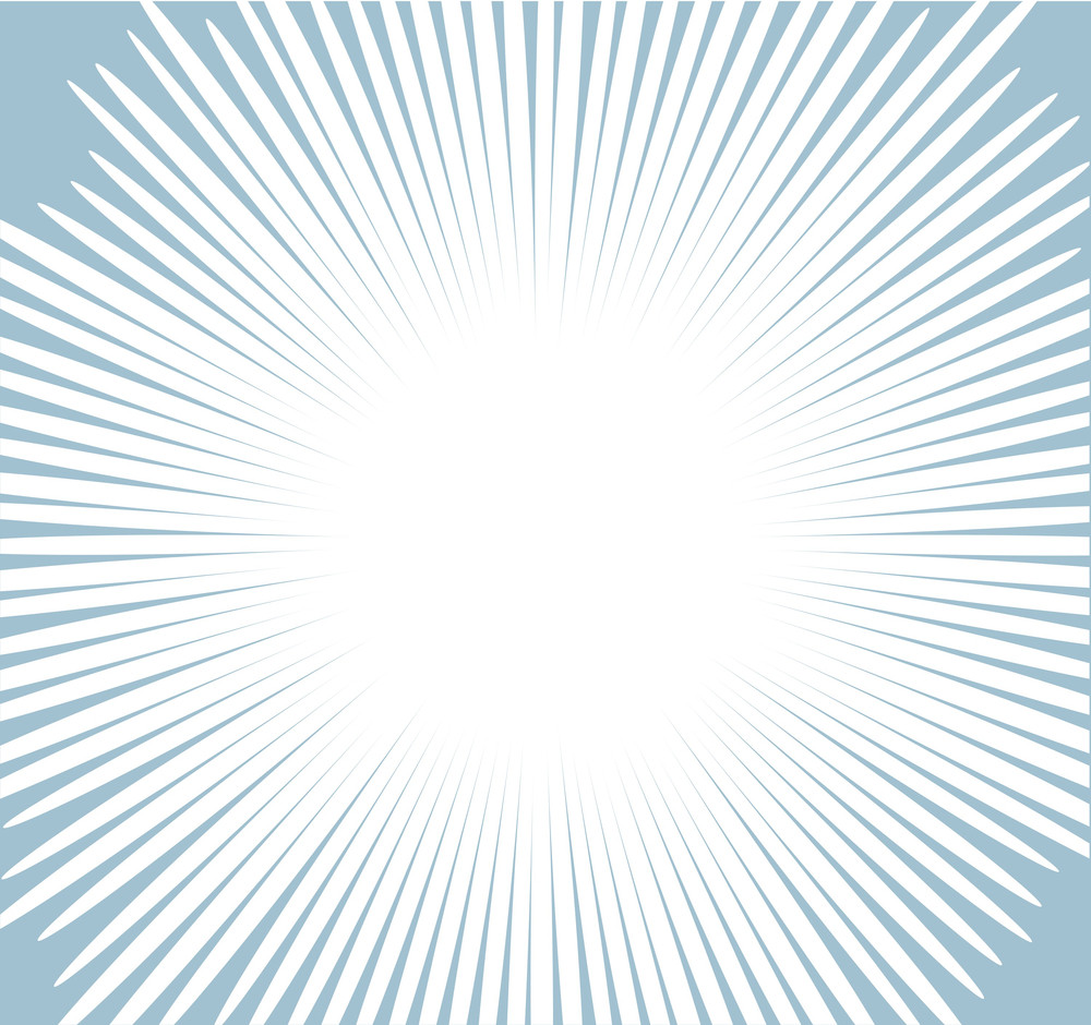 Comic Sunburst Background Vector