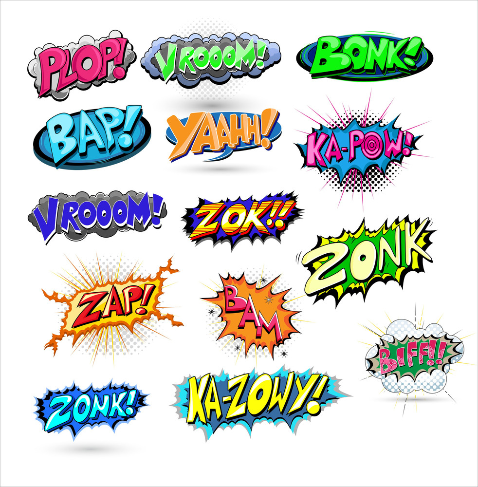 Comic Vector Expressions