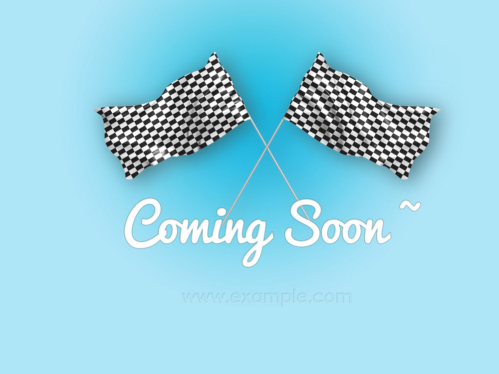 Coming Soon Web Background