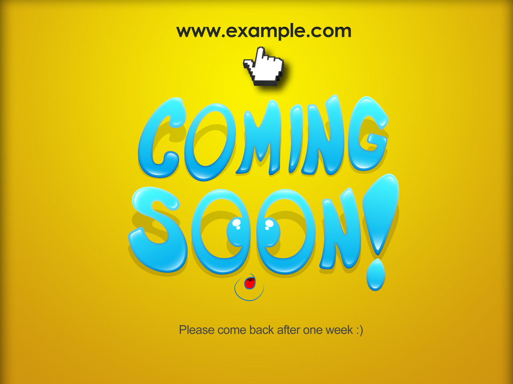 Coming Soon Web Banner