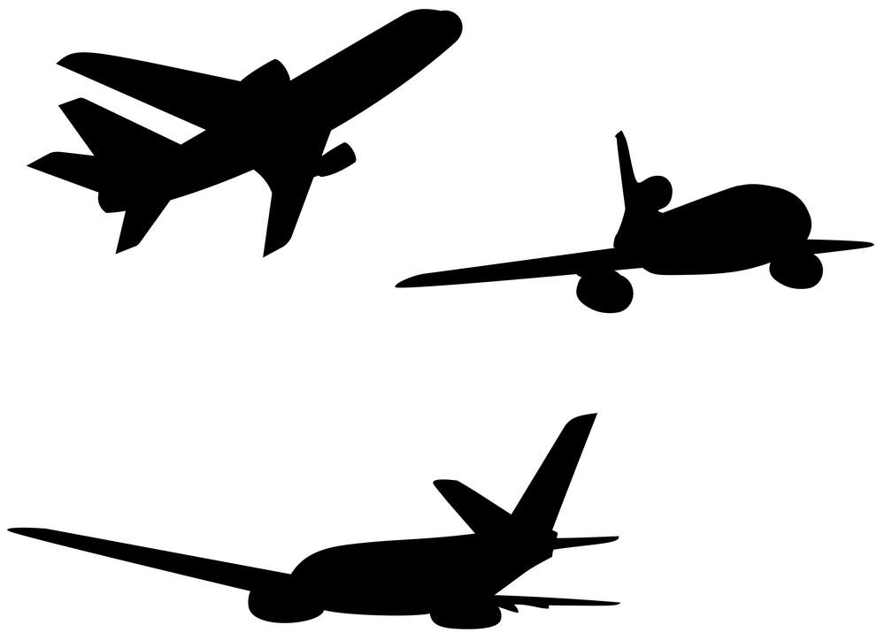 Commercial Jet Plane Airline Retro
