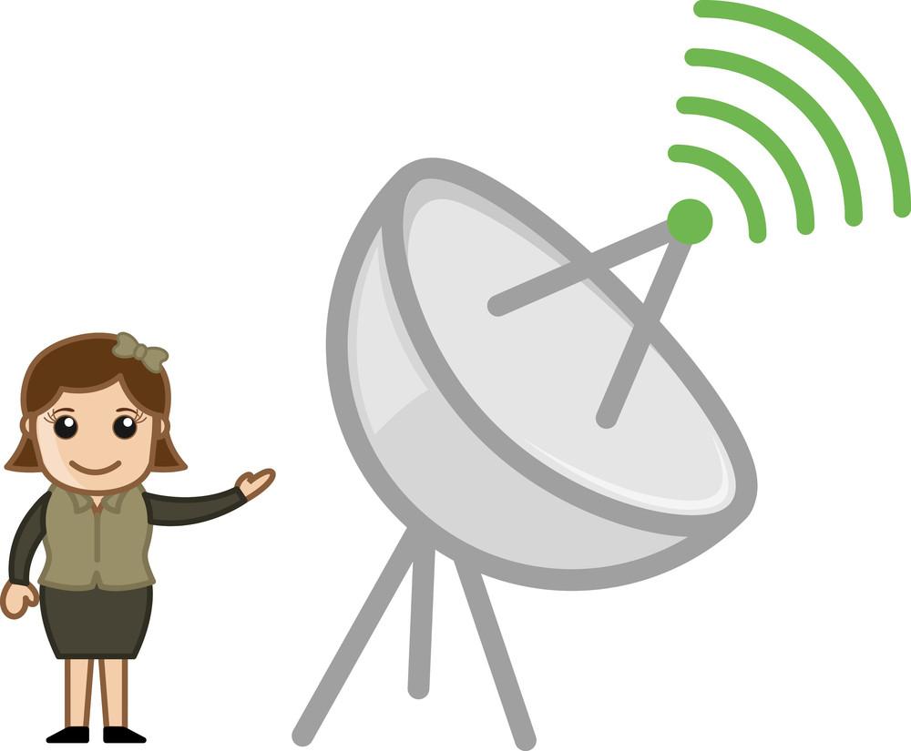 Communication Concept - Anitina - Vector Illustration