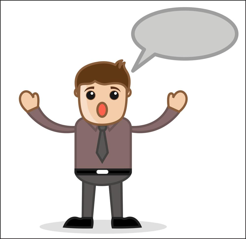 Comunicação - Gabinete e pessoas de negócios dos desenhos animados Vector Character Ilustração Concept