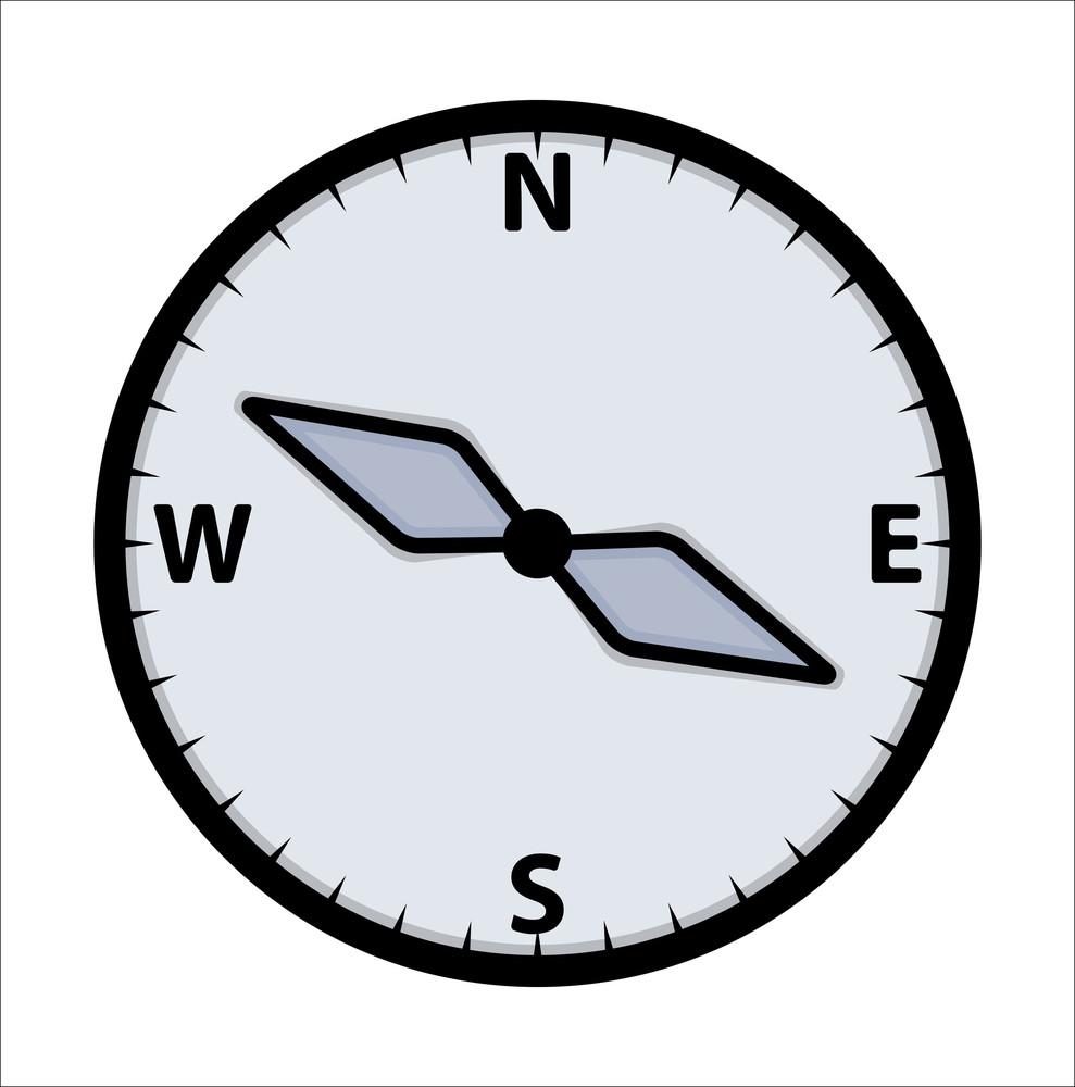 Compass - Vector Illustration