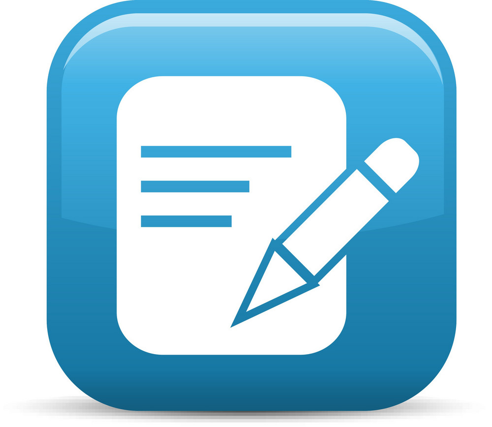 Compose Note Elements Glossy Icon