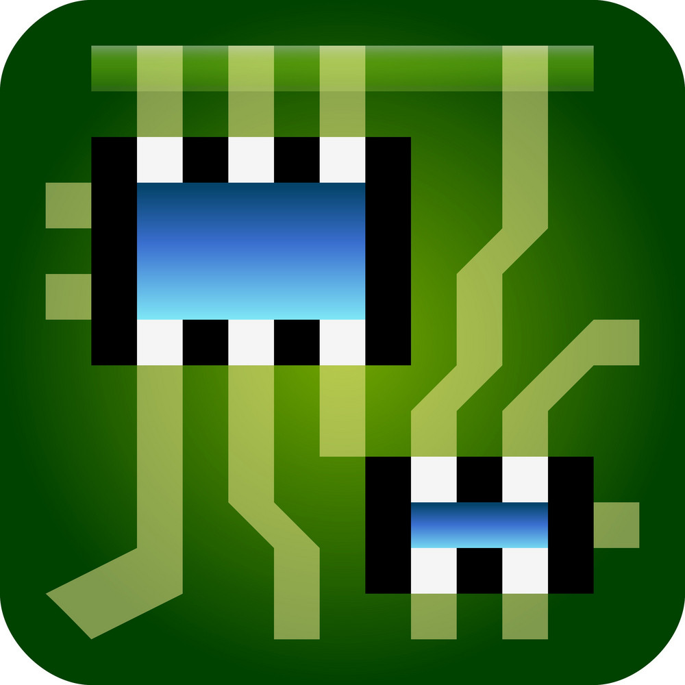 Computer Circuitry Tiny App Icon