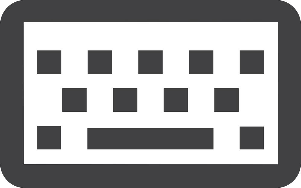 Computer Keyboard Stroke Icon