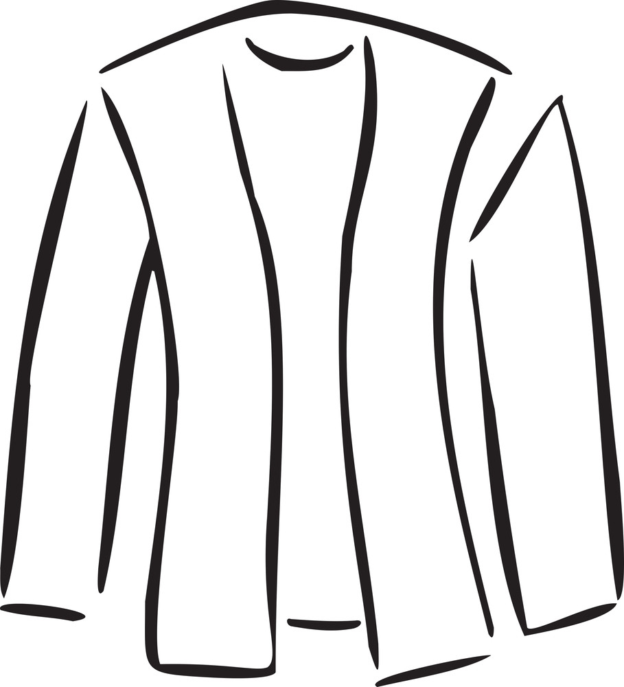 Concept Of Textile With Man's Clothes.