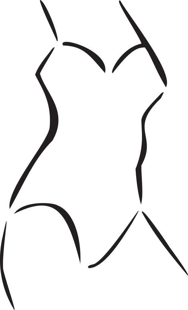 Concept Of Women Clothing With Swimming Costume.