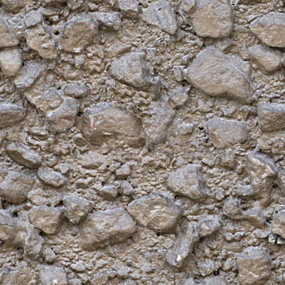 Concrete Pebble Seamless Texture
