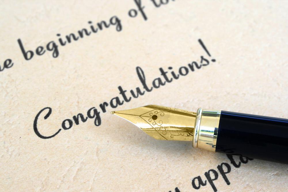 Поздравление с назначением на новую должность открытки