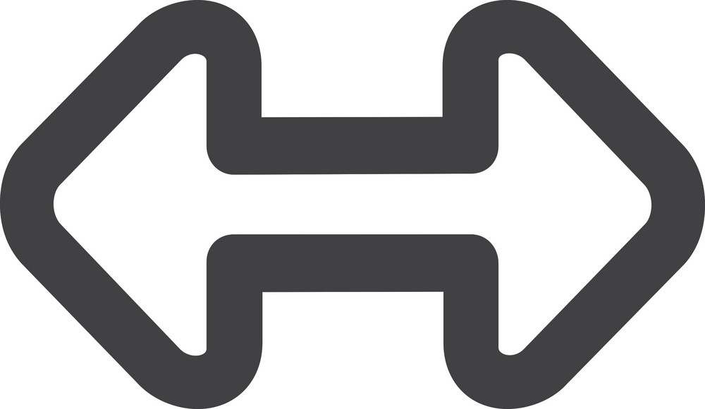 Conjoined Right Left Arrows