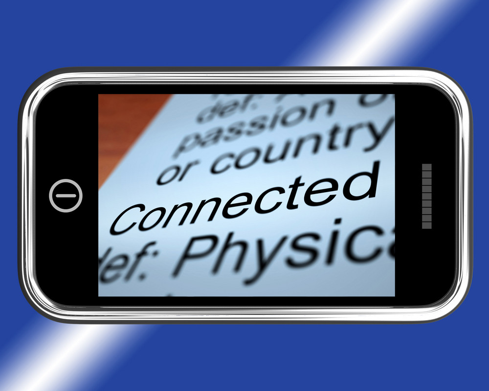 Connected Definition On Mobile Shows Online
