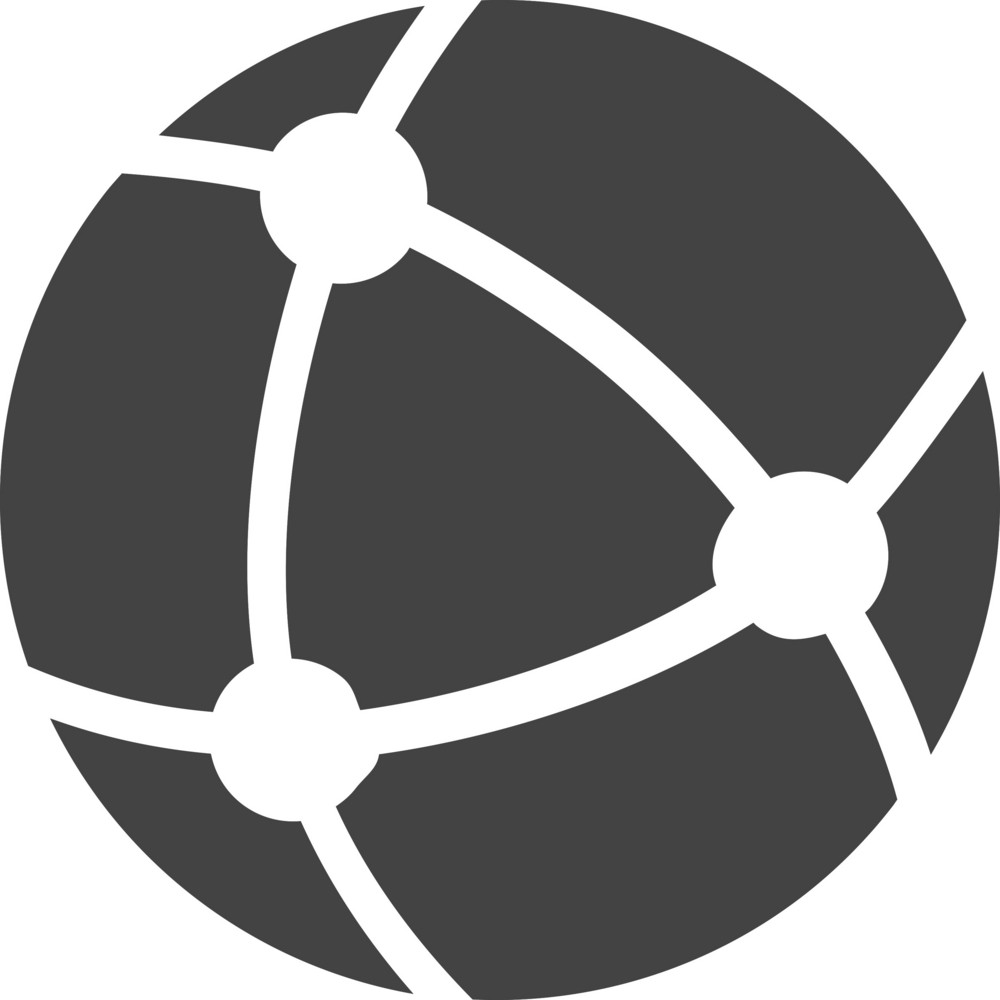 Connecting Glyph Icon