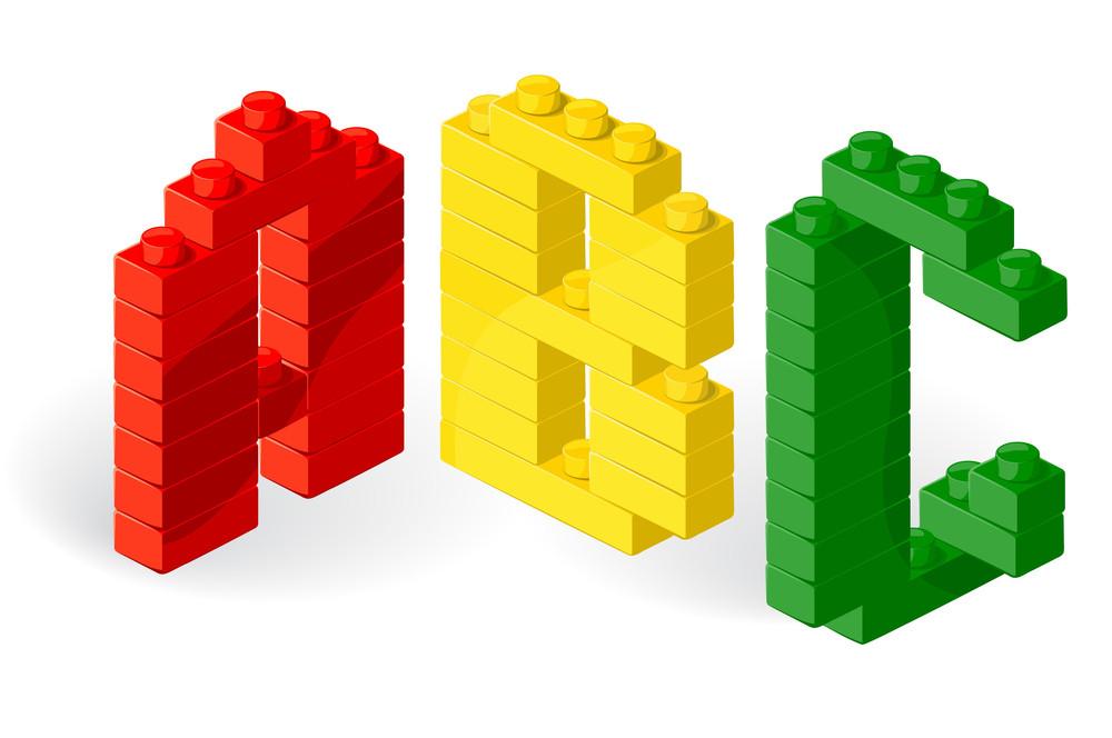 Construction Block Vector Abc.