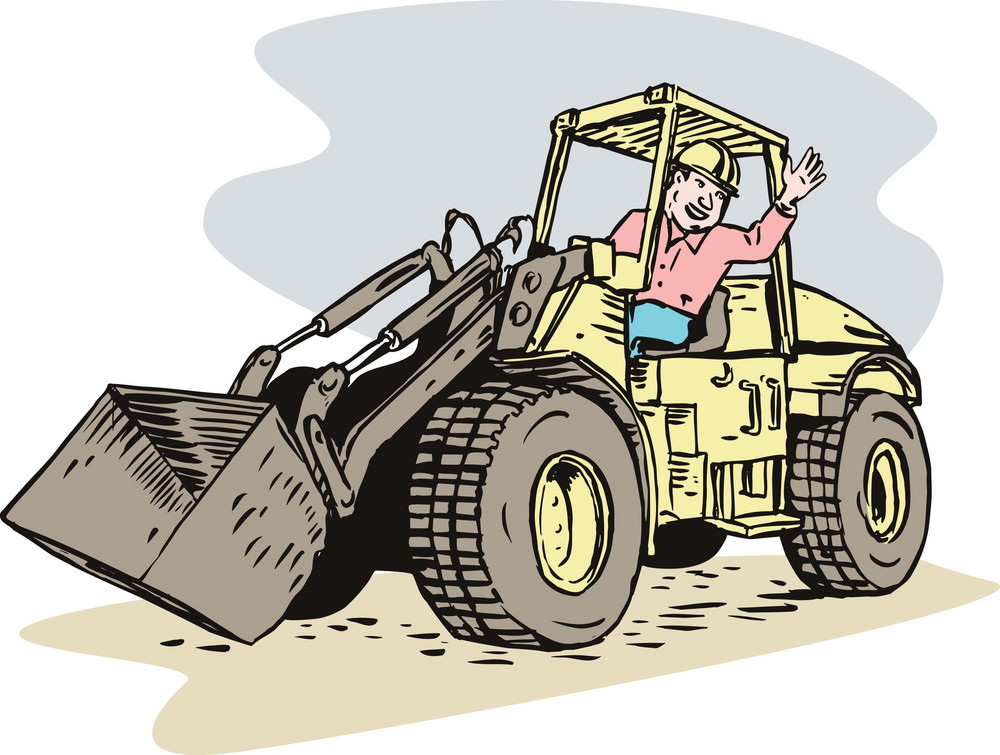 Construction Bulldozer  Digger Mechanical Excavator