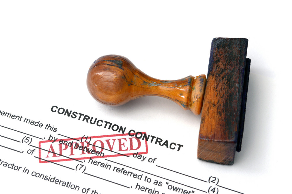 Construction Contract - Approved