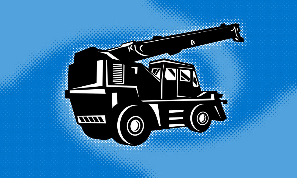 Construction Rough Terrain Crane