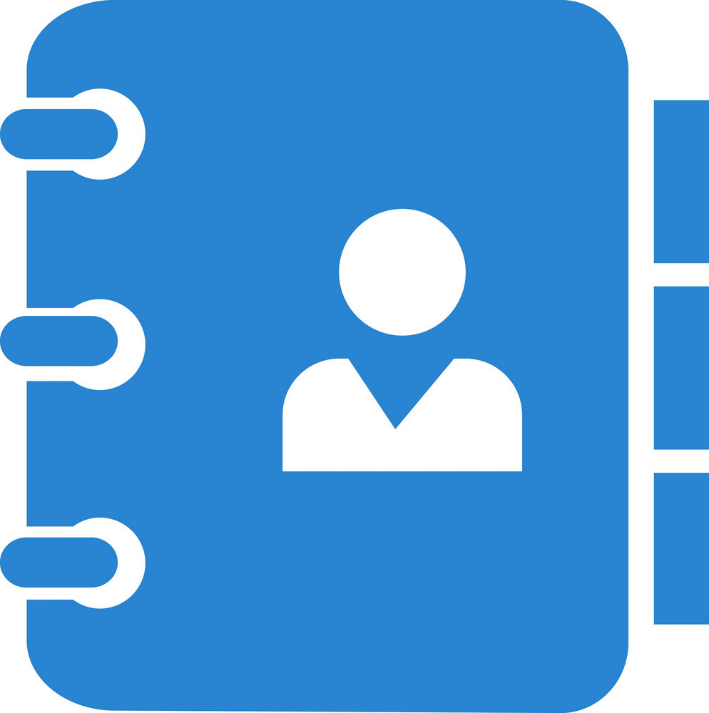 Contact List Simplicity Icon