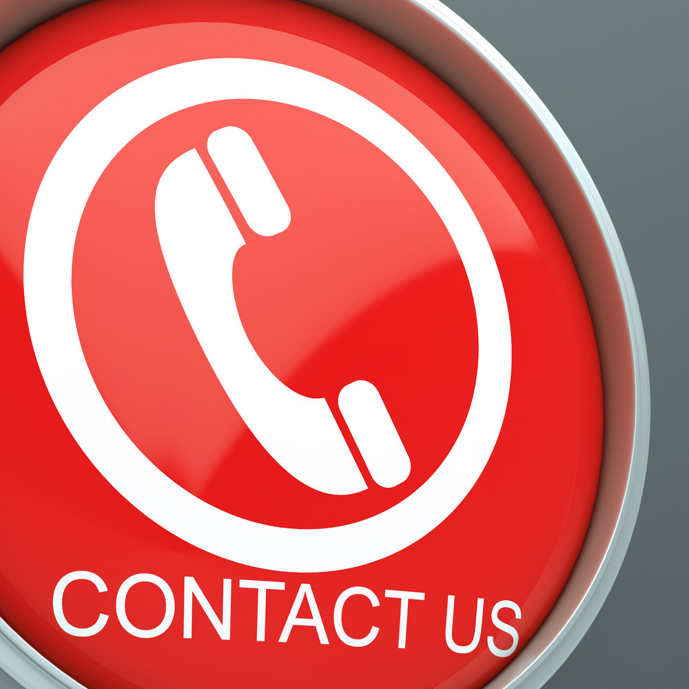 Contact Us Button Shows Helpdesk