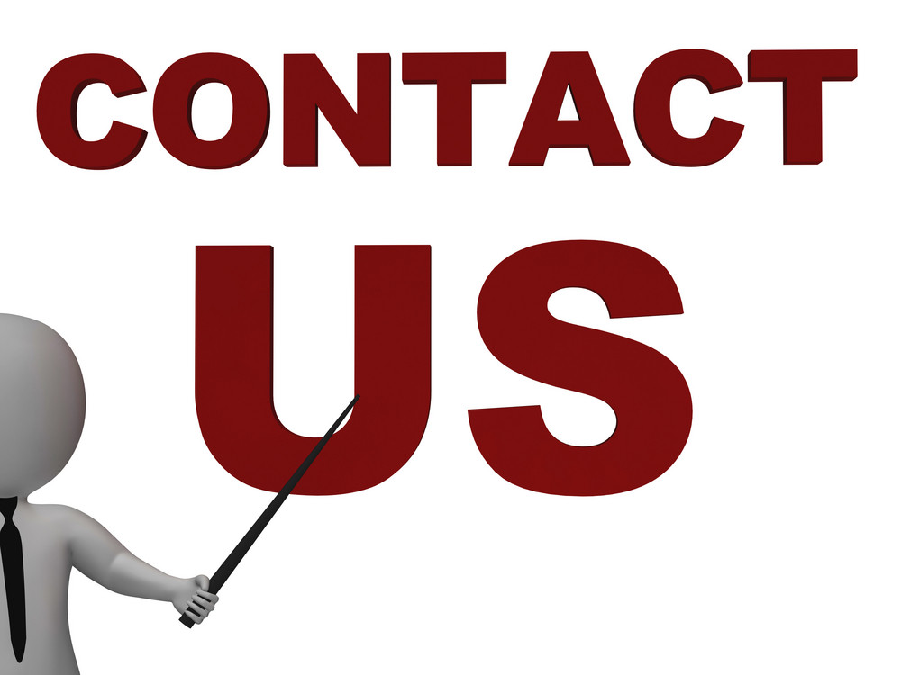 Contact Us Sign Meaning Helpdesk