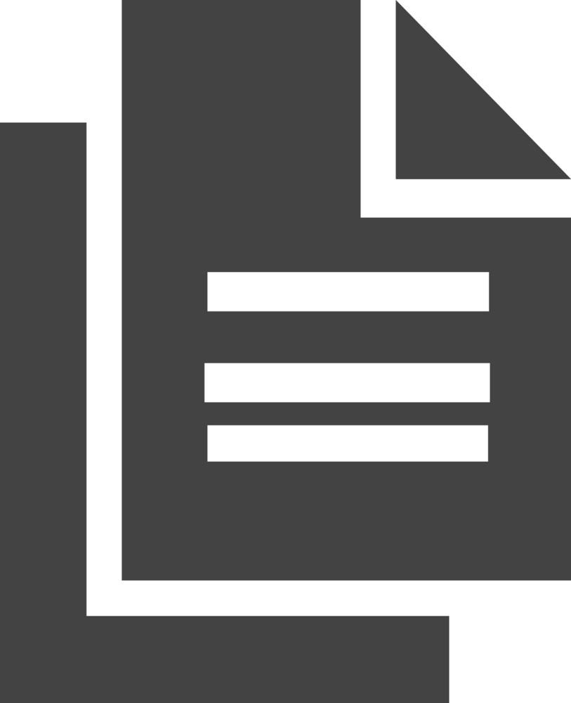 Copy Glyph Icon