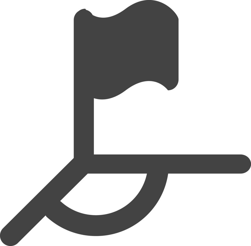 Corner Glyph Icon