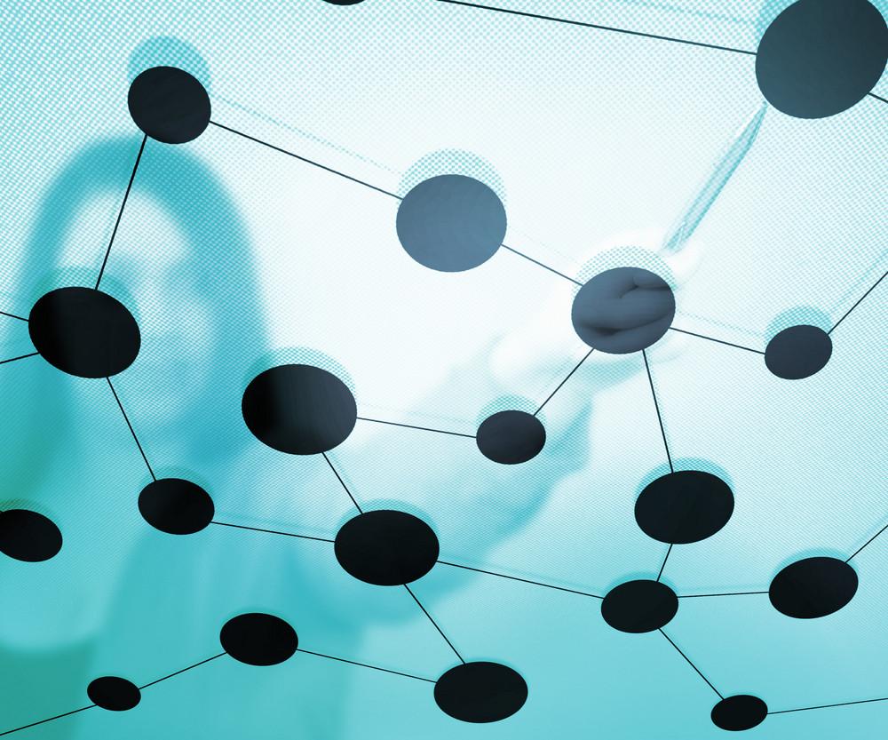 Corporation Network Texture