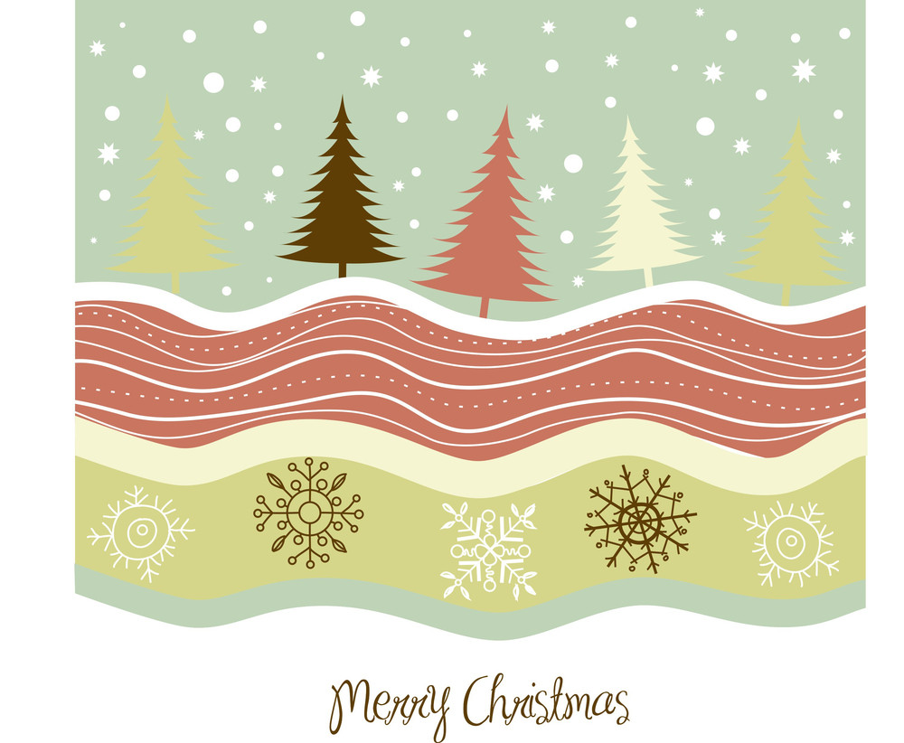 Country Christmas Card-