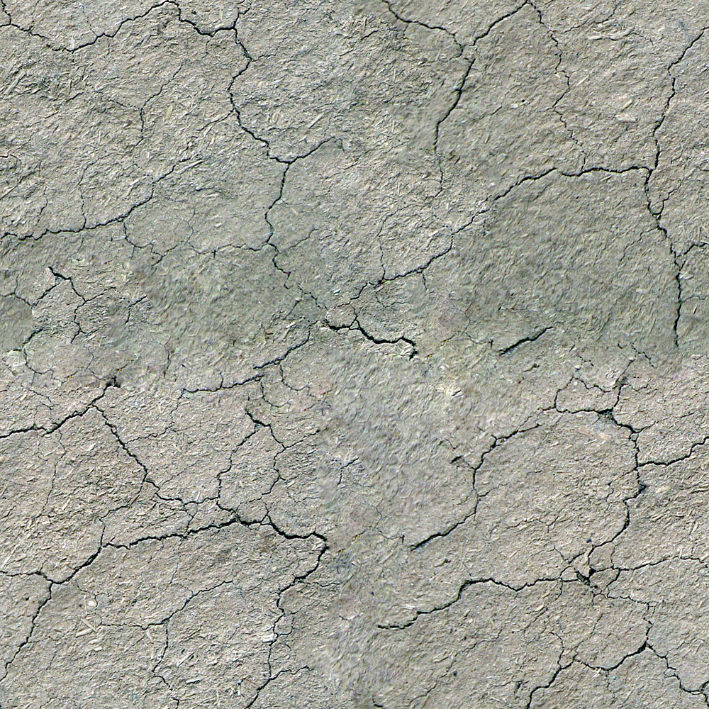 Cracked Ground  Seamless Texture