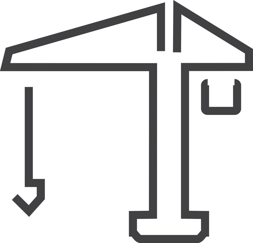 Crane 1 Minimal Icon