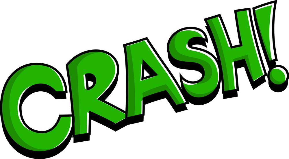 Crash - Comic Expression Vector Text
