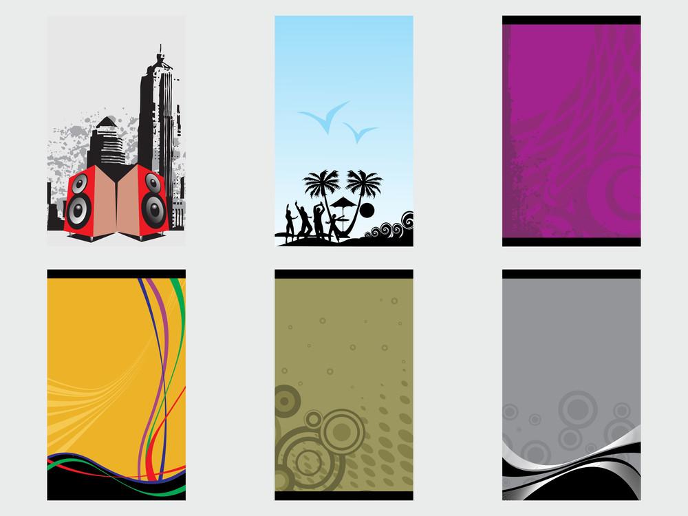 Creative Abstract Vector Banner Set4