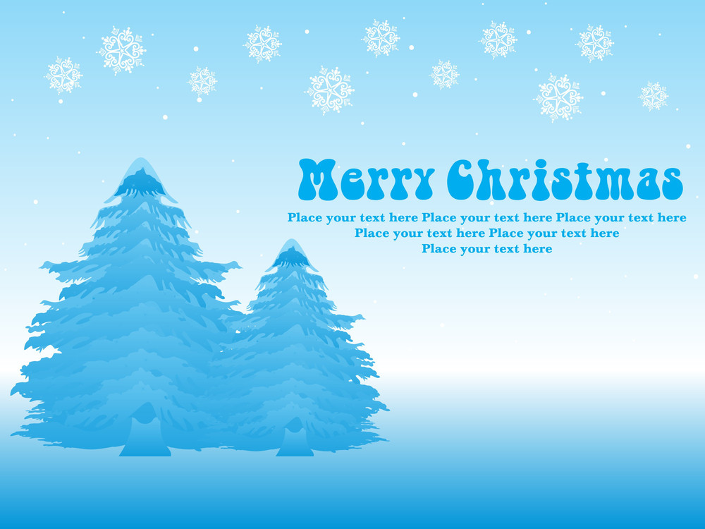 Creative Artistic Christmas Illustration