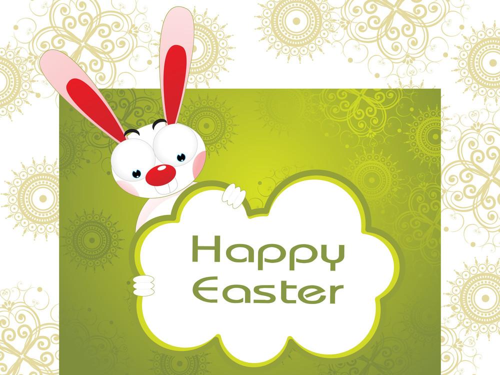 Creative Artwork Background For Easter