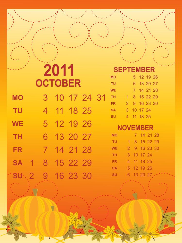 Creative Artwork Calendar For 2011