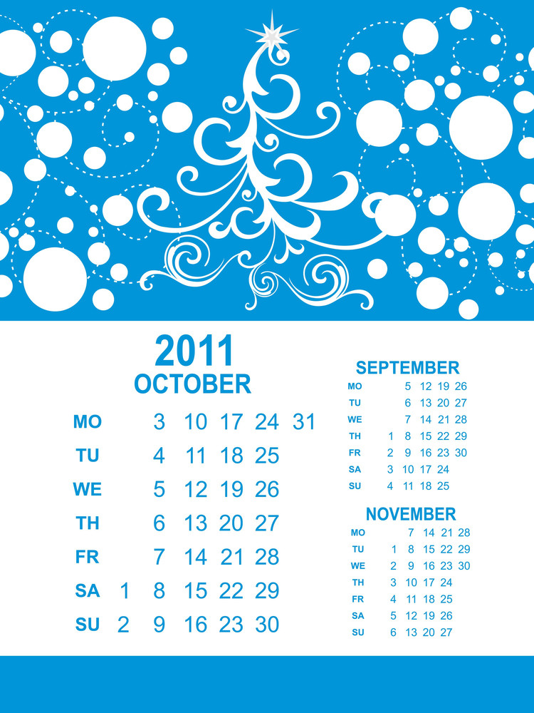 Creative Artwork Calendar For 2011