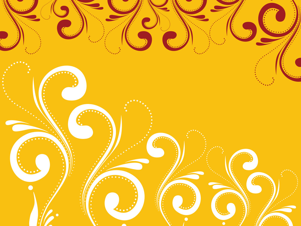 Creative Artwork Pattern With Background