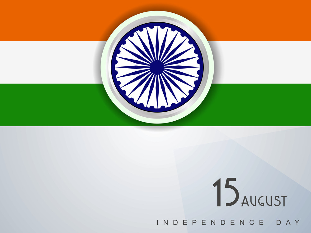 Creative Background For Independence Day And Republic Day.