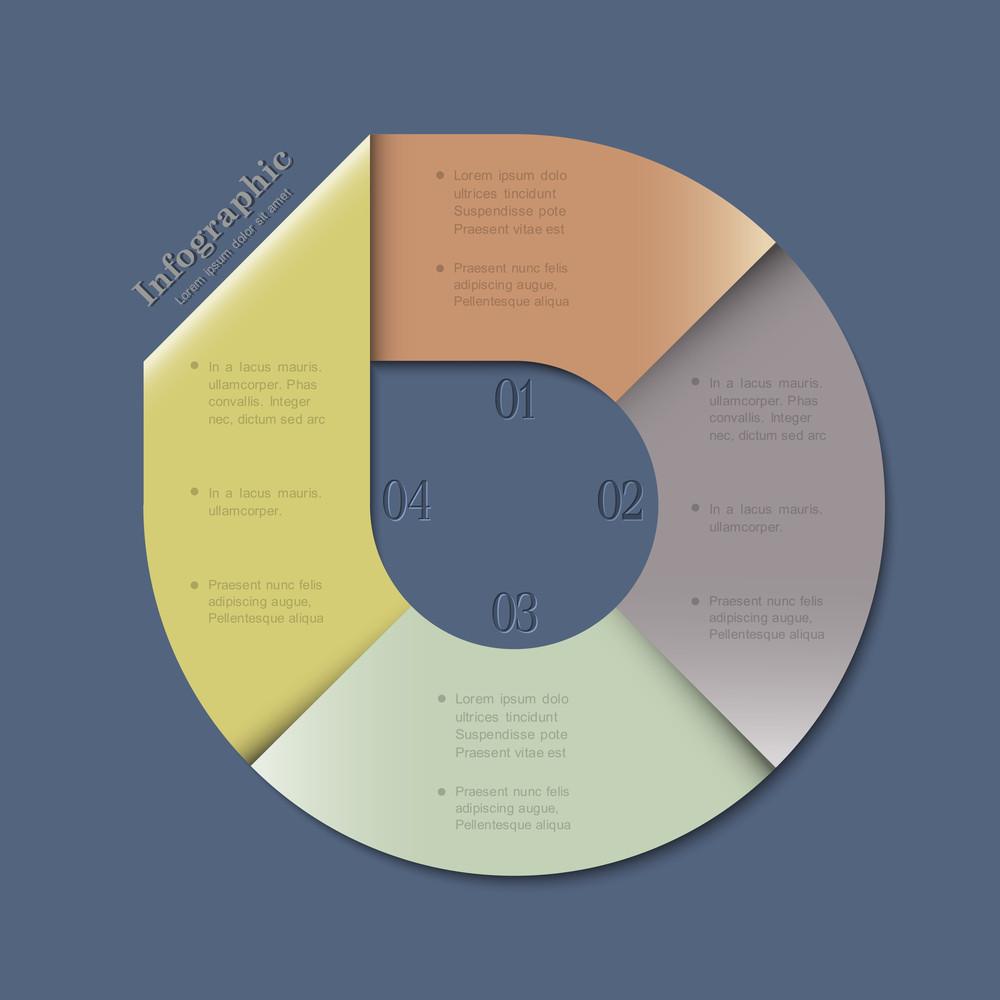 Creative Banner-arrow Design For Infographics