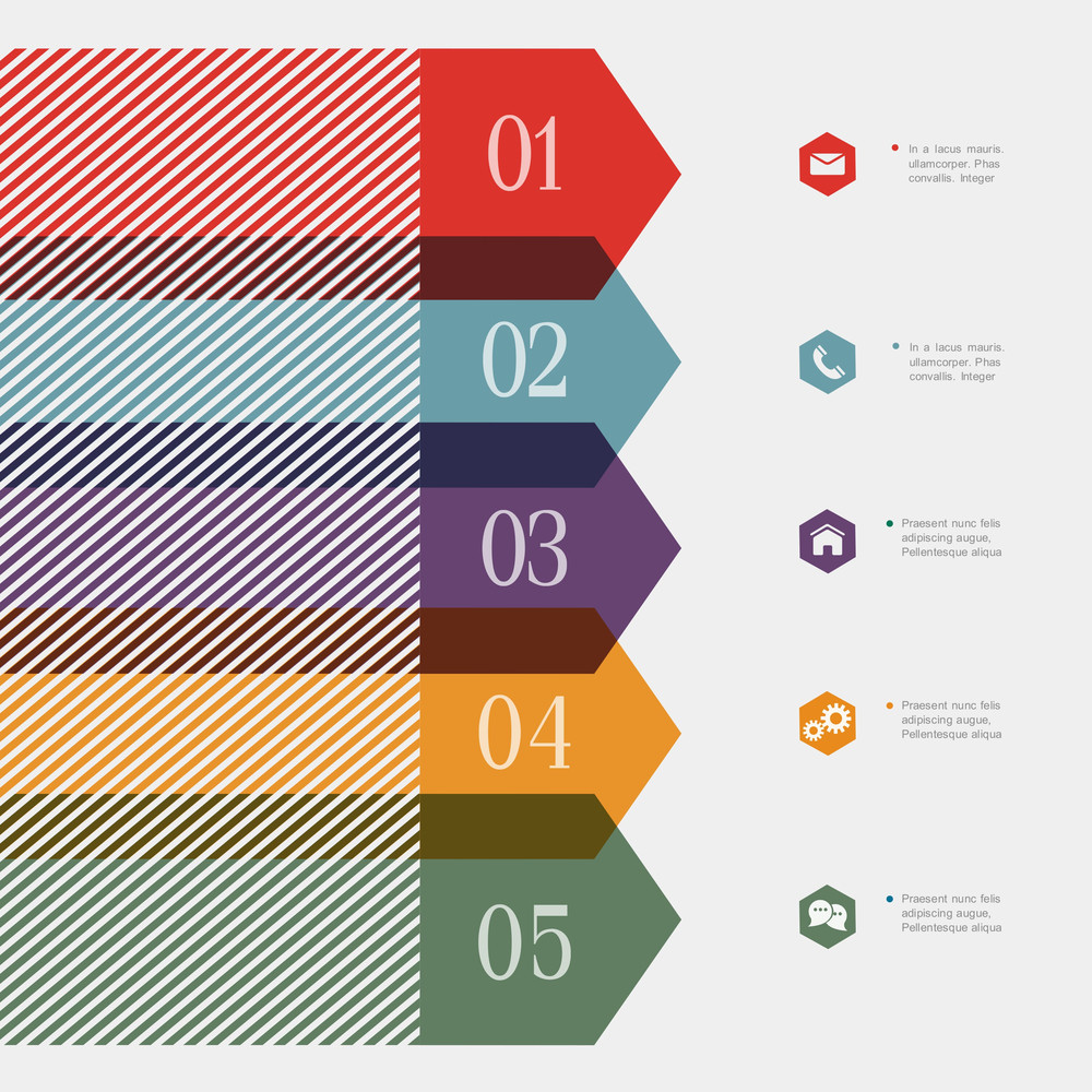 Creative Banner Design Template For Infographics