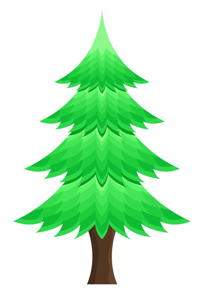 Creative Christmas Tree Design Art