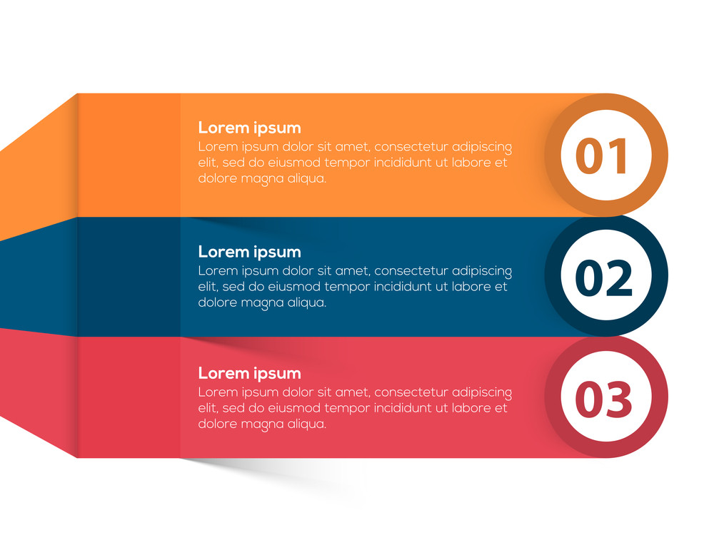 Creative colorful infographic elements layout for Business purpose.