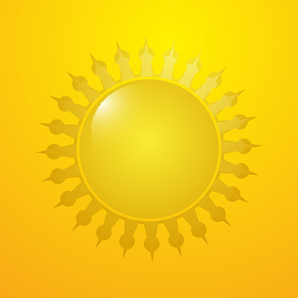 Creative Decorative Sun